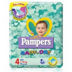 Pampers Baby Dry Downcount...