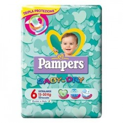 Pampers Baby Dry Xl 15 Pezzi