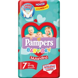 Pampers Baby Dry Pannolini...